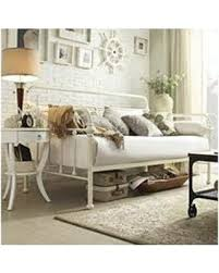 find the best deals on sophia curved back antique white daybed