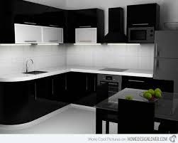 black kitchen ideas pretentious idea kitchen design black and white 15 bold and