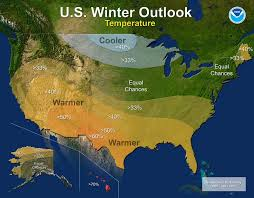 us cover map noaa u s winter outlook 2016 predicts warmer drier south and cooler