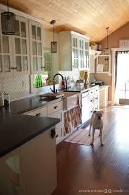 kitchen dark kitchen lighting with beadboard backsplash and white