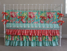 Pali Lily Crib Baby Crib Bedding Turquoise Creative Ideas Of Baby Cribs