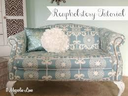 reupholstery 101 my thrift store loveseat redo part 2 tutorial