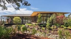chalet house kengo kuma uses borrowed scenery to infuse nature into suteki house