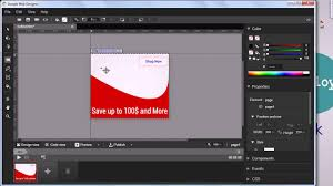 web design software tutorial google web designer tutorial create banner ad youtube