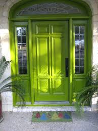 lime green front door meaning neon bright yellow doors paint