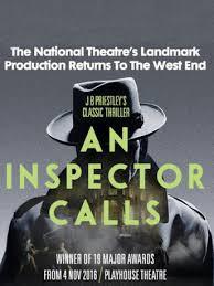 Curtain Call Playhouse An Inspector Calls Playhouse Theatre Curtain Call