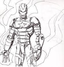 printable iron man coloring pages for fun inside iron patriot