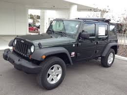 2010 jeep wrangler sport used 2010 jeep wrangler unlimited 4x4 sport for sale in ta bay
