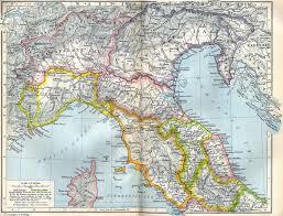 Rome Italy Map Shep026 027 Jpg
