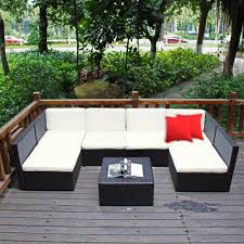 Patio Sectional Outdoor Furniture Furniture Wicker Sectional Couches Simple On Furniture In Outdoor