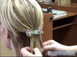 medium hair styles with barettes hair accessories for short medium long hair using barrettes
