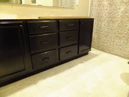 furniture chic wooden bathroom cabinet using general finishes