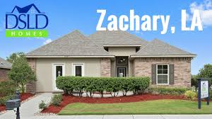 Dsld Homes Floor Plans by Redwood Lake Zachary La Youtube