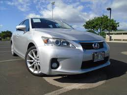 lexus is for sale in hawaii 2012 lexus ct hatchback in hawaii for sale used cars on