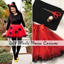Halloween Costumes Minnie Mouse Diy Minnie Mouse Costume
