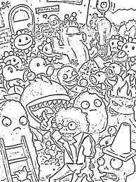 free printable zombie images plants vs zombies coloring pages all plants free printable zombie