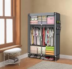 furniture walmart wardrobe heavy duty coat rack wood garment rack