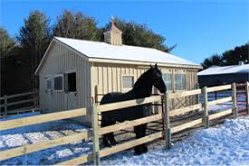 backyard horse barns sheds storage barns homes garages cs horse barns in maine