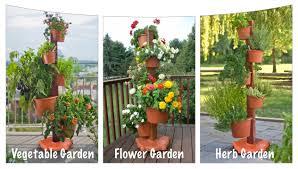 my garden post vertical gardening system
