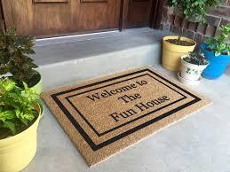 double door mat homesfeed