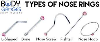 all nose rings images Learn all you need to know about nose ring sizes body gauges jpg