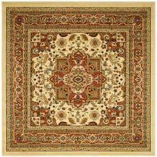 Brown And Orange Area Rug Orange Area Rugs Rugs The Home Depot