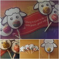 cute christmas sheep craft for kids godly ladies