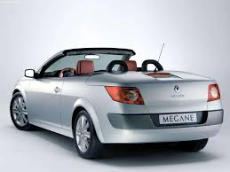 megane renault convertible renault megane ii coupecabriolet 2003 pictures information