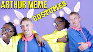memes halloween diy arthur meme costume easy halloween costumes youtube