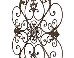 bayaccents wrought iron fleur de lis wall decor u0026 reviews wayfair