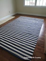 Black Striped Rug Calypso In The Country Striped Rug