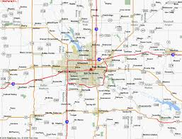 iowa map with cities map of des moines ia