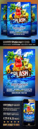 summer splash cocktails party flyer by rembassio graphicriver