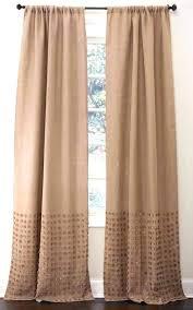 Grommet Burlap Curtains Burlap Curtains With Grommets Keepassa Co