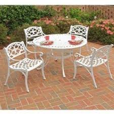 White Patio Furniture Sets Foter - Outdoor white wicker furniture