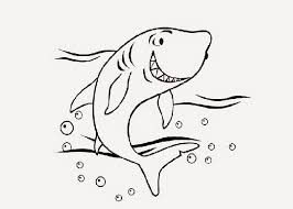 cute shark coloring pages free coloring pages coloring books