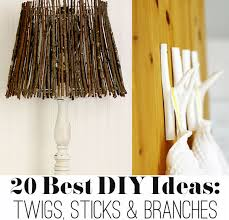 Room On The Broom Craft Ideas - 20 best diy ideas with twigs sticks and branches