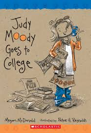 judy moody goes to college by megan mcdonald scholastic