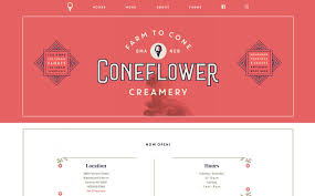 102 Best Design Trend Artisanal The Best Designs Web Design Inspiration Coneflower Creamery