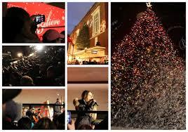 macy s tree lighting boston macy s boston 2014 christmas tree lighting one woman s style