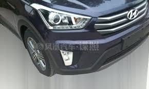 Hyundai Ix25 Interior India Bound Hyundai Ix25 Compact Suv Spied Interiors Revealed