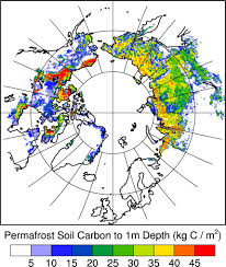Map Of Russia And Alaska by Simpler Way To Estimate The Feedback Between Permafrost Carbon And