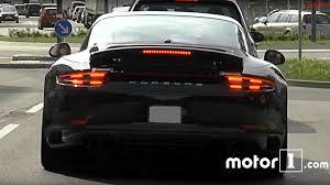 custom porsche 2017 2017 porsche 911 targa 4 gts spotted undisguised