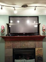 Fireplace Opening Covers by Drywall How Do I Mount A Tv To Cover A Cubby Hole Above My