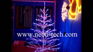 led christmas tree motif light outdoor color changing xmas tree