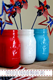 fifty patriotic mason jar ideas yesterday on tuesday