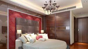 fancy bedroom with trendy plasterboard also ceiling light fixtures