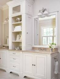Large Traditional Lshaped Open Concept Kitchen In Minneapolis - White cabinets master bathroom