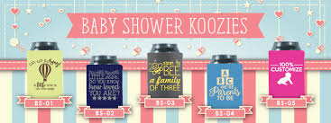 shower koozie baby shower koozies