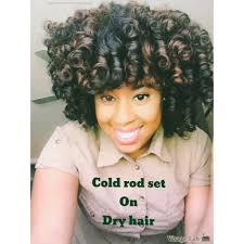 cold wave rods hair styles cold wave rod set on dry hair youtube